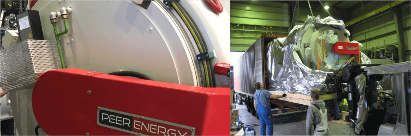 gas-nitriding and gas-nitrocarburizing PEERENERGY